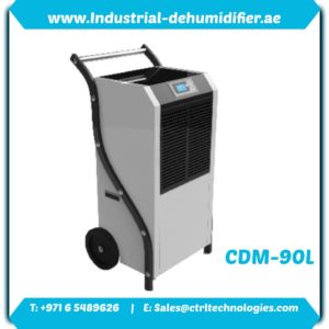 CMD-90L industrial dehumidifier in UAE