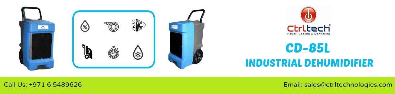 CD-85L Industrial dehumidifier in Dubai, UAE.