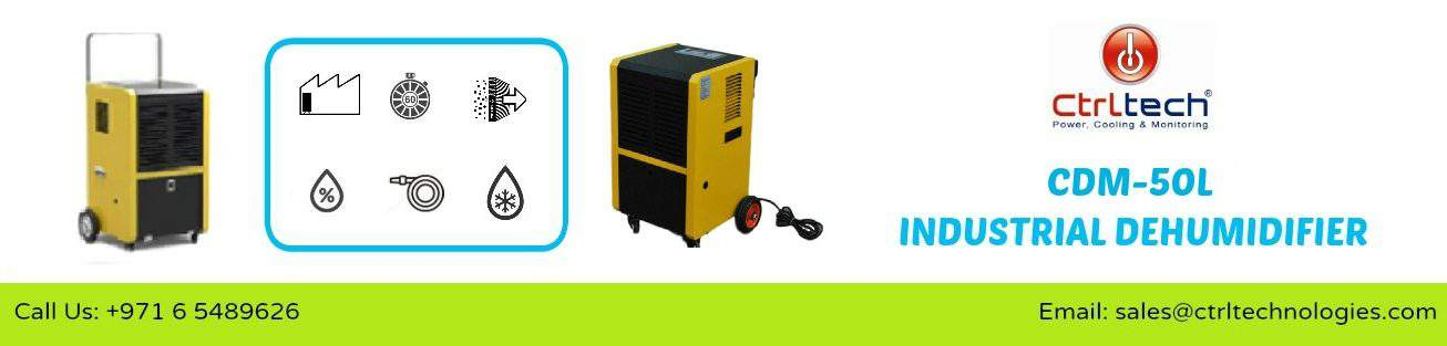 Air dehumidifier CDM-50L in Dubai, UAE.