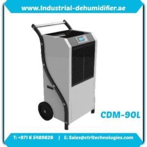 CMD-90L industrial dehumidifier in UAE