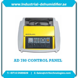 Control panel of AD 780 commercial dehumidificatioin unit