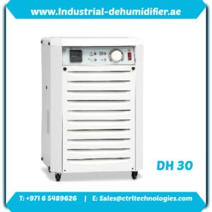 DH 30 by CtrlTech Dehumidifier supplier in UAE.