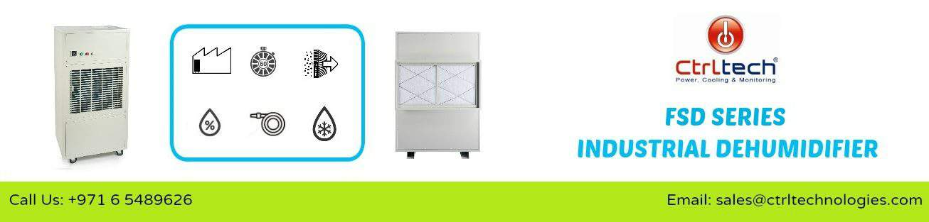 AD780 Commercial duty dehumidifiers in UAE.