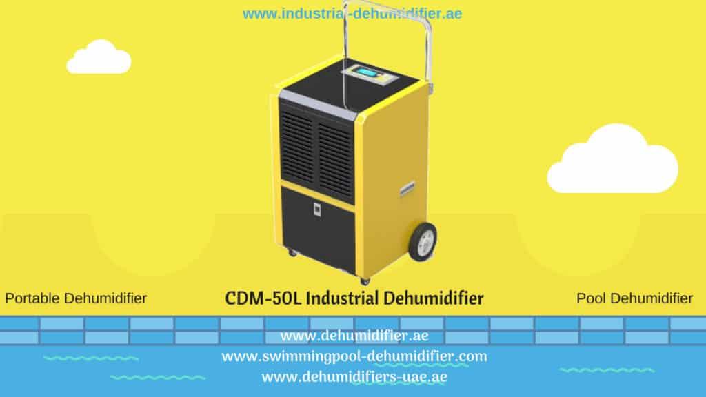 CDM-50L Dehumidifier or industrial-dehumidifier