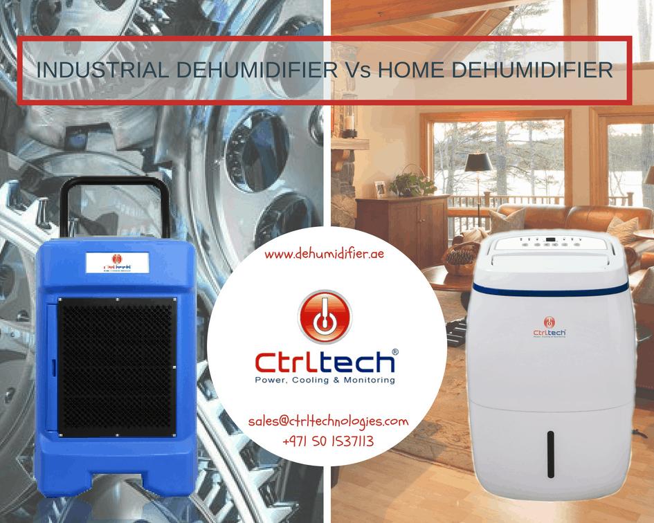 Industrial Dehumidifier vs home dehumidifier