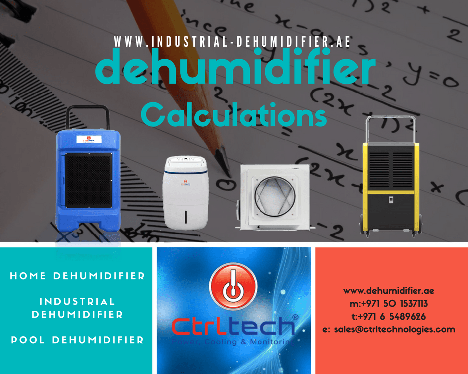 How to do dehumidifier Calculation?