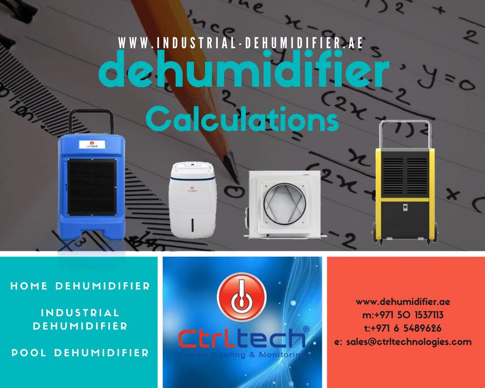 How to do dehumidifier Calculation?