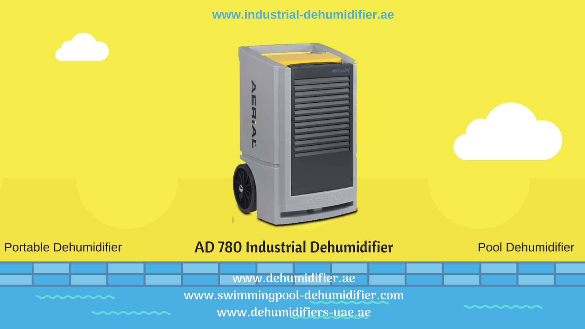 AD780 Industrial Dehumidifier review.